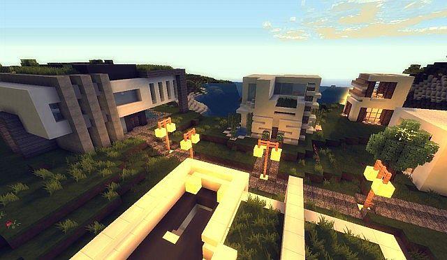 Little Modern Village Minecraft Project