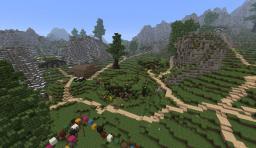 Hobbitown ( A Hobbit Village ) Minecraft Project