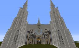 cathedral fantasy Minecraft Map & Project