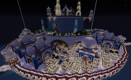 Flying castle Minecraft Map & Project