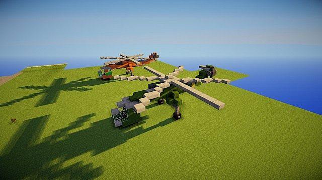 sikorsky skycrane minecraft project