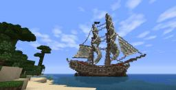 The Jackdaw! ACIV Black Flag ship! Minecraft