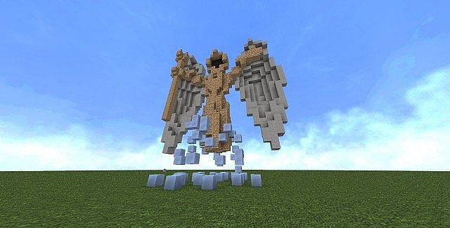 Fantasy Statue Minecraft Project