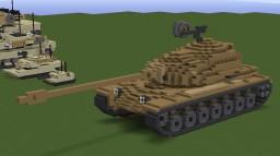 M103 Heavy Tank Minecraft