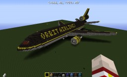 Douglas DC-10 Orbit Airlines Minecraft Map & Project