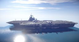 French Carrier Charles de Gaulle Minecraft