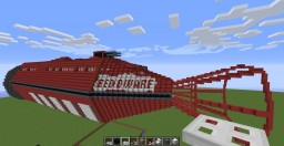 Red Dwarf  Mining ship this is BIG Minecraft Map & Project