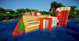 Semi Underwater Modern Farm Base Download Minecraft Map & Project