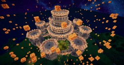 Sky Castle Download Minecraft Map & Project