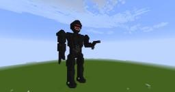 yoglabs Robocop statue Minecraft