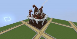 Gingerbread House Minecraft Map & Project
