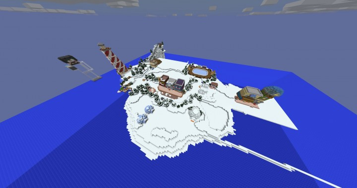 Penguin Island Map