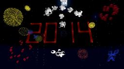 Happy New Year Firework Minecraft Map & Project