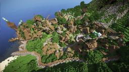 Viridis - The Green City + [ Download ] Minecraft Map & Project