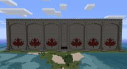 Canadian PvP Arena (full-size hockey arena) Minecraft Map & Project