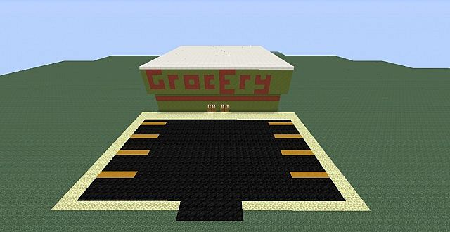 grocery store  real life schematic series  minecraft project
