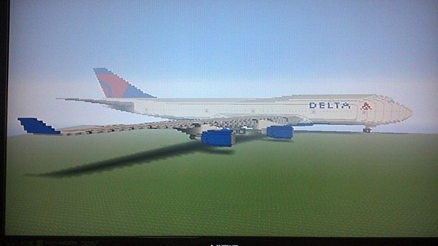 Delta Airlines 747 Minecraft Related Keywords Suggestions Delta