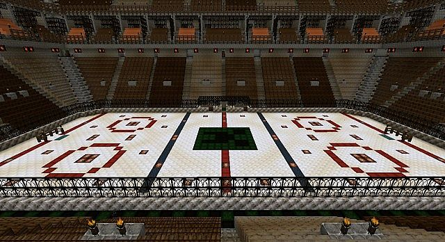 Canadian Pvp Arena Full Size Hockey Arena Minecraft Project