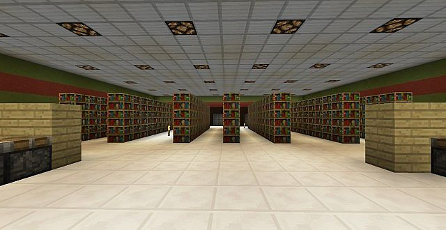 Grocery store real life schematic series minecraft project for Serie warehouse
