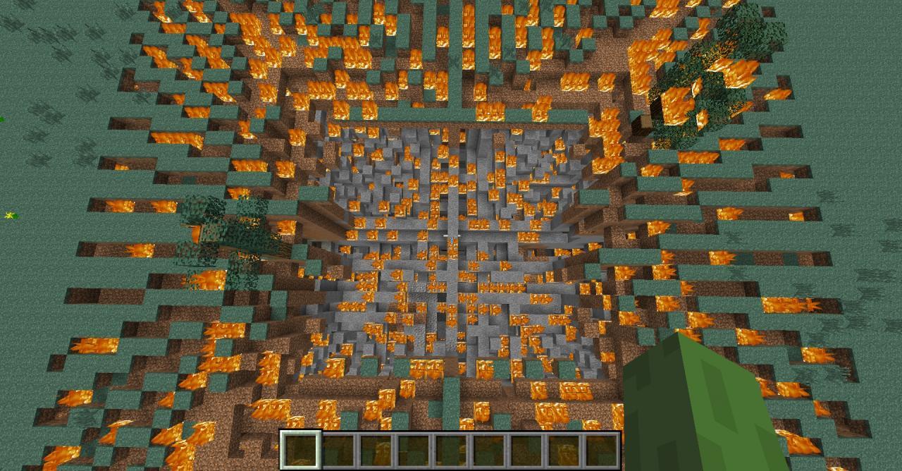 MC NUKE IN VANILLA! Minecraft Blog