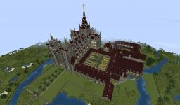 Medieval Abbey Minecraft Map & Project