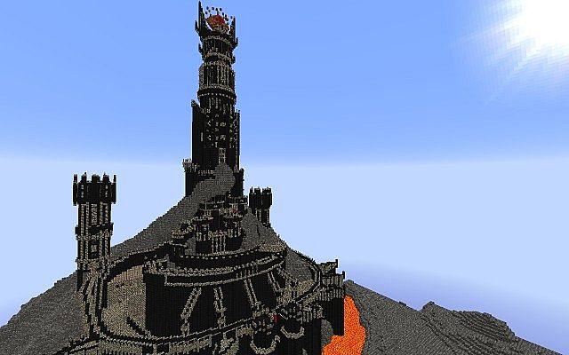 Minecraft Barad Dur (L.O.T.R) - YouTube