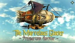 The Marvelous Glacier - Steampunk Airship Minecraft Project
