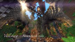 Vallsburg steampunk valley w/ Cinematic Minecraft Map & Project