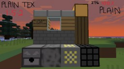 PlainTex V1.5 Minecraft Texture Pack