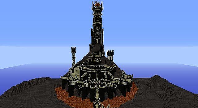 Sauron's Fortress Barad Dur Map | Minecraft 1.9/1.8.9/1.7.10 Mods ...