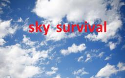 sky survival Minecraft Map & Project