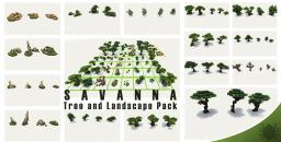 Savanna Tree Pack Minecraft