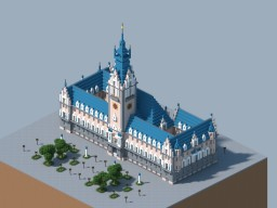 Hamburger Rathaus - Hamburg City Hall Minecraft Project