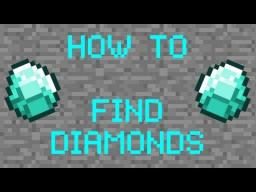 How to find diamonds easily! Minecraft