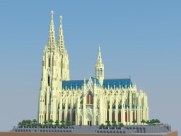Kölner Dom - Cologne Cathedral Minecraft Map & Project