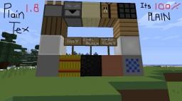 PlainTex V1.8 Minecraft Texture Pack