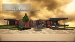 [Pop Reel] Slate - A Modern House Minecraft Map & Project