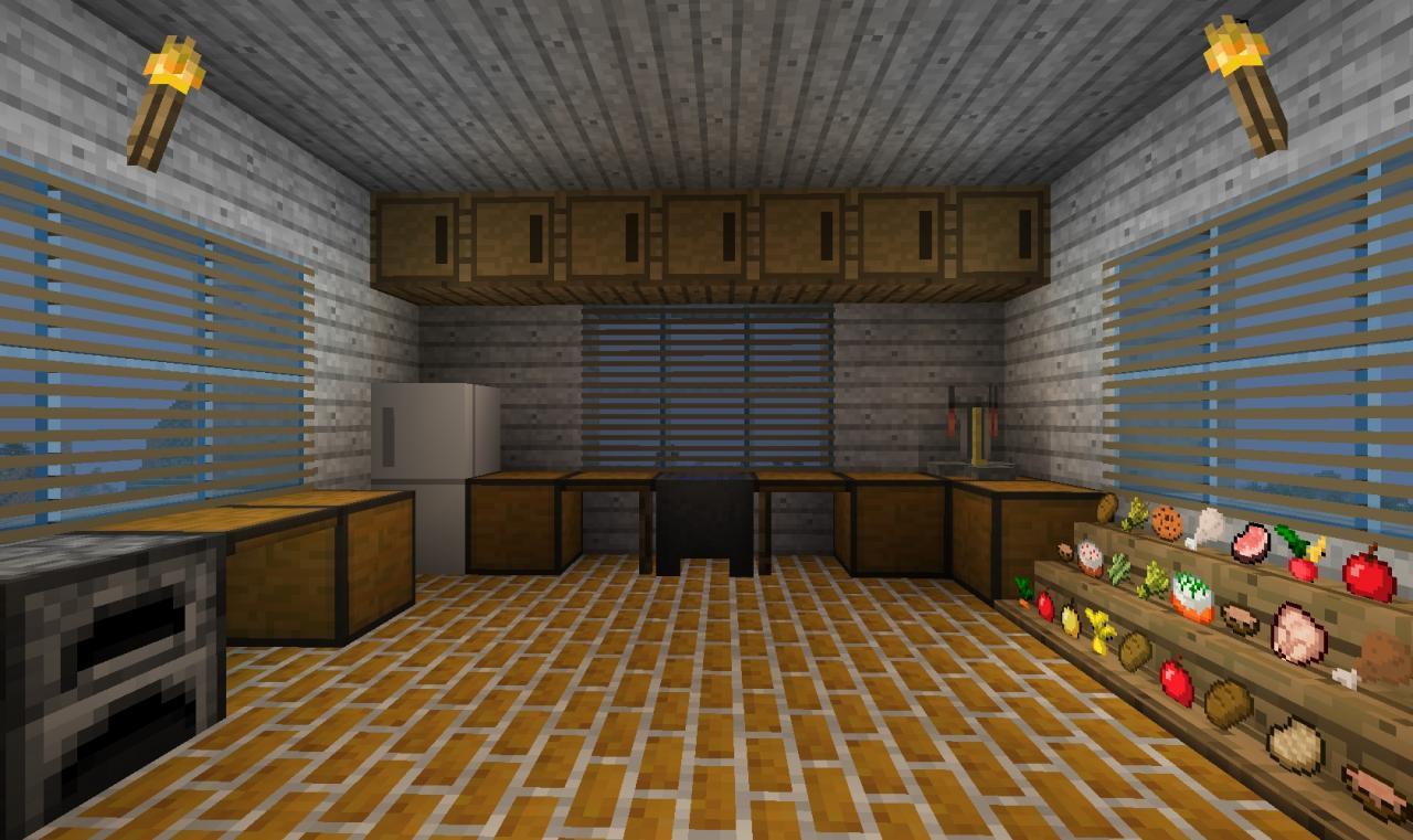 Minecraft Kitchen Designs Ideas Youtube With Kitchen Ideas Minecraft Design Design Ideas