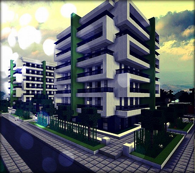Minecraft Apartment: MOHITO Apartments Minecraft Project