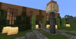2 homes i built (non-downloadable) Minecraft Map & Project