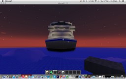 awesome cruise ship Minecraft Map & Project