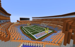 The Cove - Modern Outdoors Stadium Minecraft Map & Project
