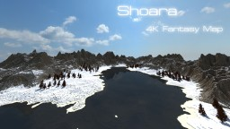 Shoara 4K - Fantasy map Minecraft Project