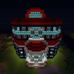 Unova Pokemon Center Minecraft Map & Project