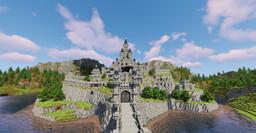 Hyrule castle (BOTW) Minecraft Map & Project