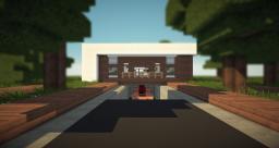 Nero - Modern House Minecraft Map & Project