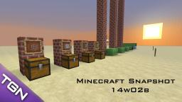 Minecraft Snapshot 14w02b - 'New Enchanting & Crafting' Minecraft Blog Post