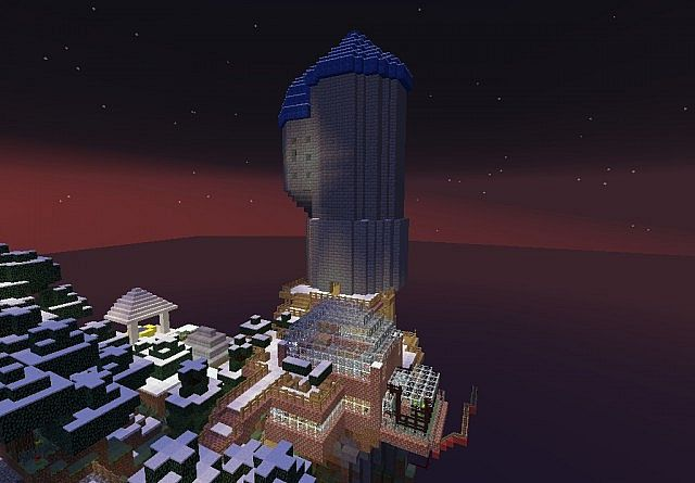 wizard tower and entertainment center