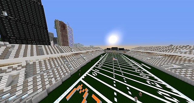 Bayview Heights Nfl Stadium Minecraft Project