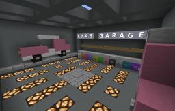Car Garage (-Game-) [AntoS] Minecraft Map & Project